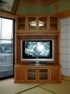テレビ台   黒部市    コーナー型。テレビ台。    既製品にはないサイズです。