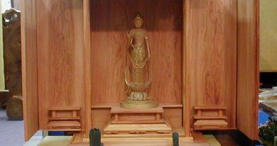 最高級建材「一位」の仏壇・厨子